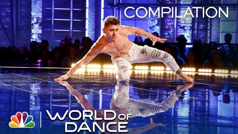 Michael Dameski: All Performances [World of Dance 2018]