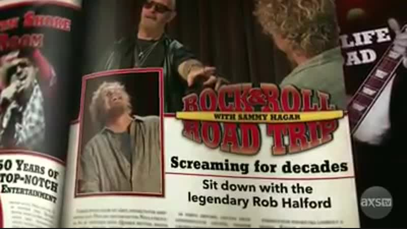 Sammy Hagars Rock and Roll Road Trip with Rob Halford