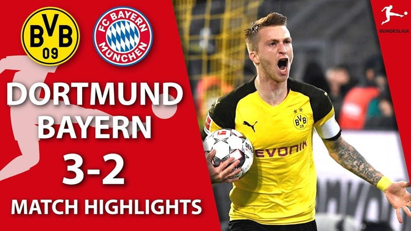Dortmund - Bayern - 32 | Match highlights | Bundesliga MD-11 (10.11.2018)