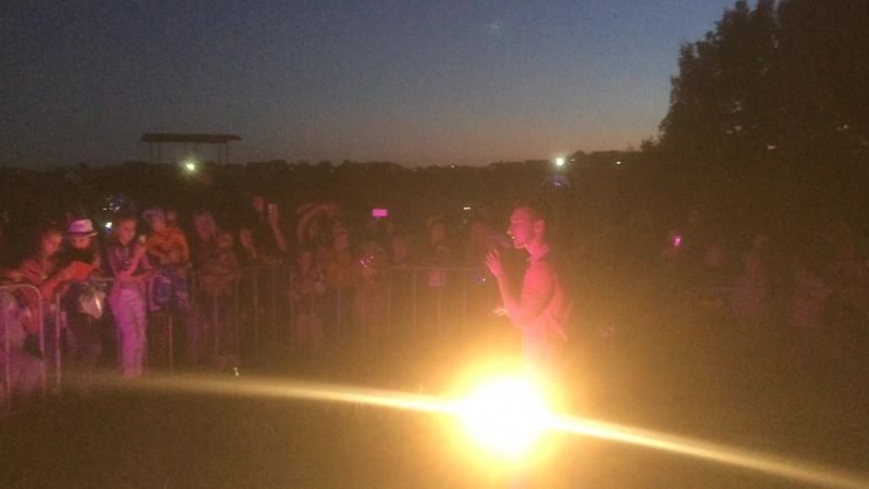 Видео с фестиваля световых фонариков 8.07.18г.