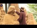 Скульптуры из песка в Питере.mp4