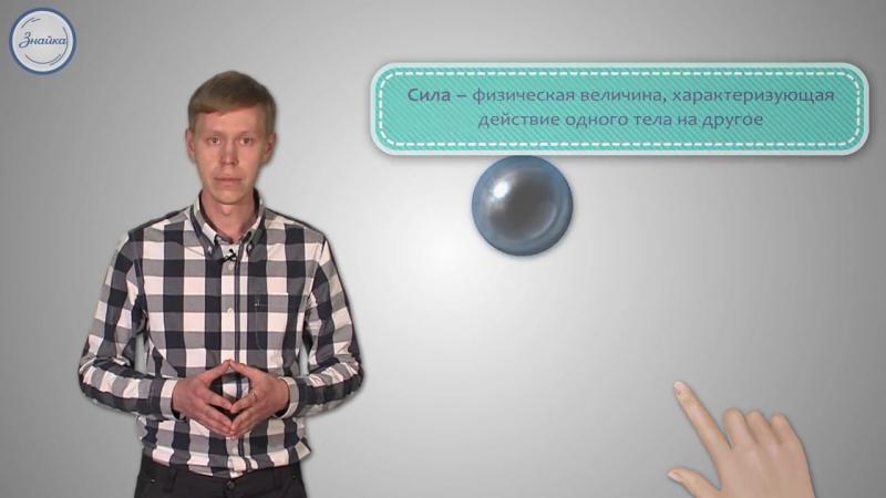 Естествознание 5 Изменение скорости и формы тел при их взаимодействии
