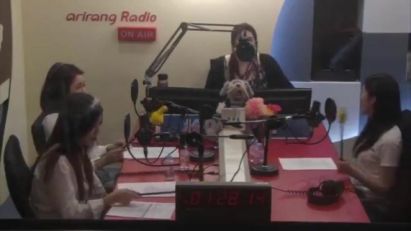 20180517 베리굿 하트하트(BerryGood HEARTHEART) 아리랑TV 라디오 K-POPPIN 보이는 라디오