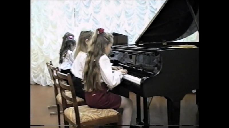 Играем Прокофьева: 1.Гавот 2.Монтекки и Капулетти (запись 1997 г)