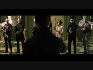 Matrix Reloaded — Chateau Fight