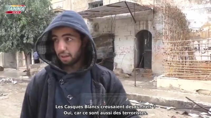 Témoignage local sur le vrai rôle des casques blancs en Syrie ! (32s)