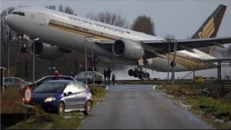 Aviões Aterrissagens Perigosas _ Pousos de Emergência _ Dangerous airplane crosswind landing