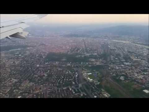 Прибытие посадка в Будапешт Érkezés leszállás Budapesten