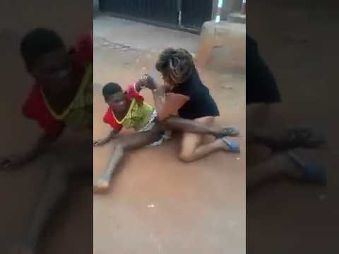 African Catfight (Clothes Get Ripped Off)