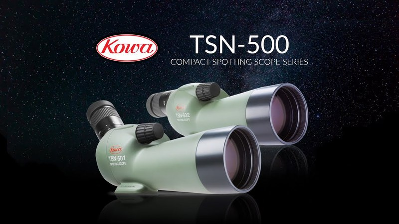 Kowa TSN-500 Compact 50mm Spotting Scope Series