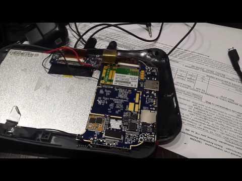 Ремонт планшета WEXLER TAB 7B (Видео 1)