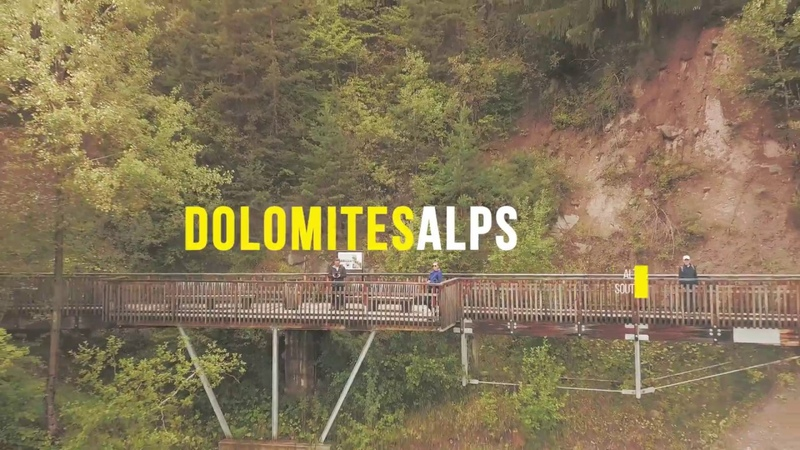 DOLOMITES ALPS WITH DRONE - SOUTH TYROL ALTO ADIGE