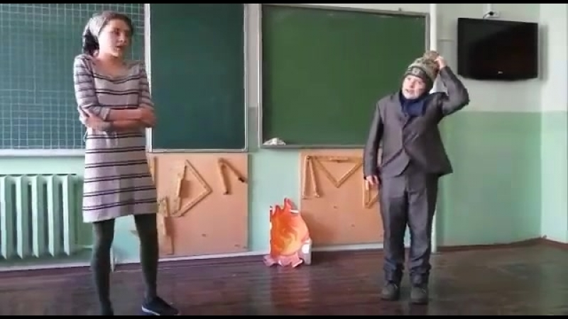 Спектакль 12 месякев Долганова Д.М. школа 37