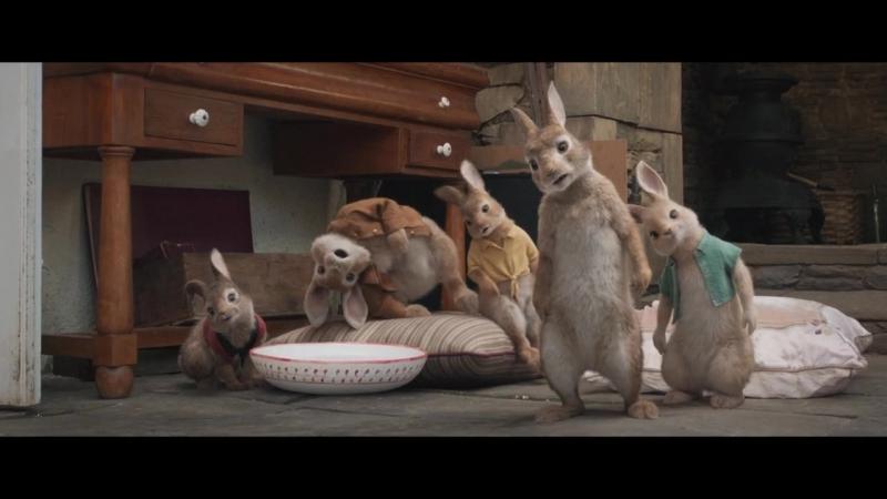 Фильм Кролик Питер (2018) трейлер смотреть онлайн