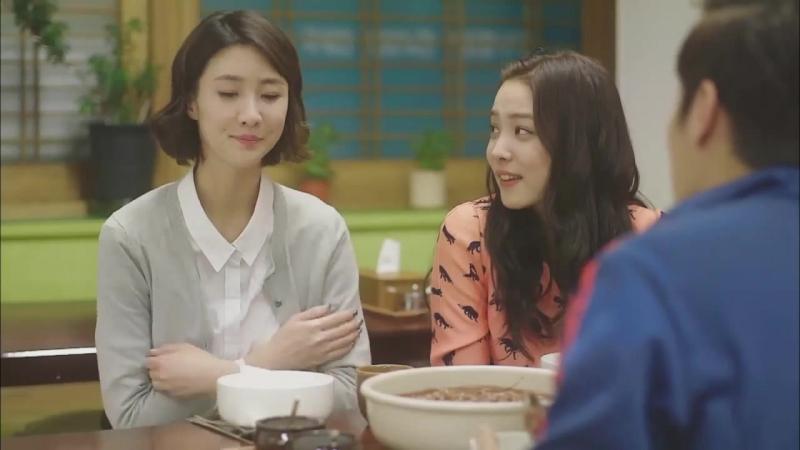 8 Lets Eat Lets Eat Ep4_ Red bean Kalguksu food show_Yoon Du-jun, Lee Soo-kyung