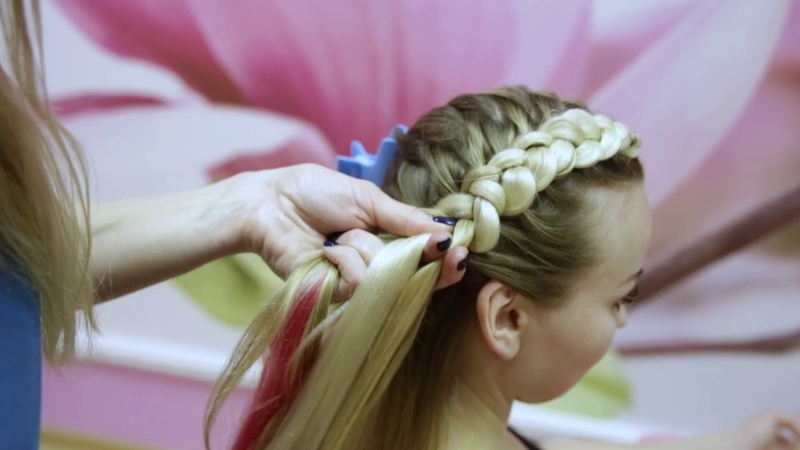 Обучение плетению Урок №7 Две объемные косы с канекалоном смотреть онлайн без регистрации