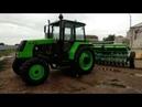 Мини Бизон 4х4 сеялка Harvest 360 посевная