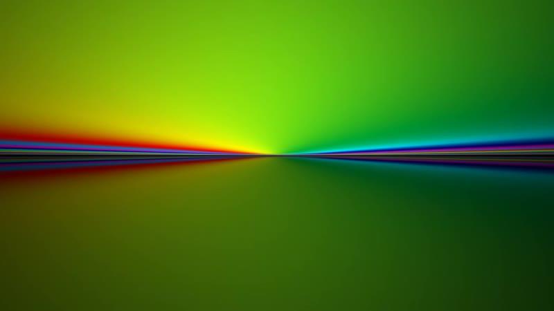 Радужный горизонтальный градиент / Rainbow gradient clean horizon