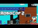 RoboCop 2 ДЕНДИ Полное прохождение Игра на Dendy Робокоп 2 1990 RoboCop 2 NES Walkthrough 90е