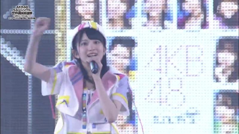 180616 AKB48 53rdシングル世界選抜総選挙 - Opening Act (BS Sky PerfecTV)