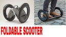 Cool Lightweight Foldable Electric Scooter or Skateboard Perfect for for Everyday Commute