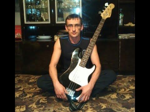 Виртуозная игра на бас-гитаре, слэп. От Сергея Яковлева!