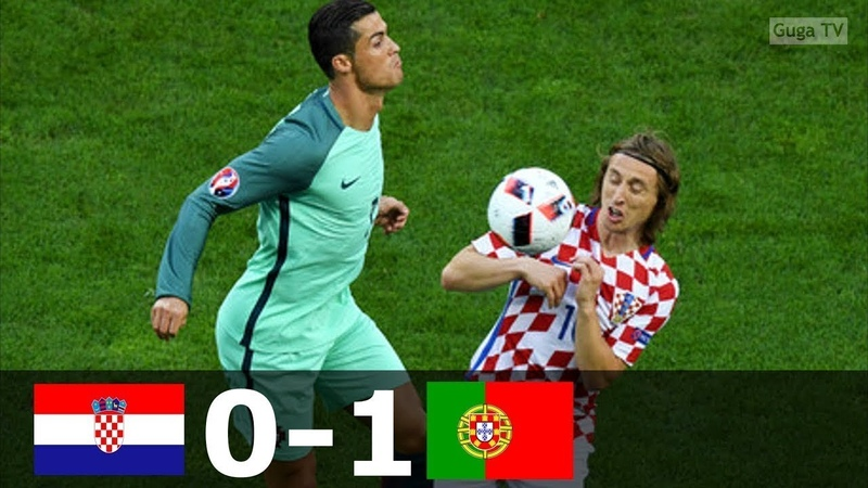 🔥 Хорватия - Португалия 0-1 - Обзор Матча 1/8 Финала Чемпионата Европы 26/06/2016 HD 🔥