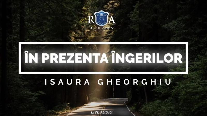 ISAURA GHEORGHIU - ÎN PREZENȚA ÎNGERILOR ( COVER )