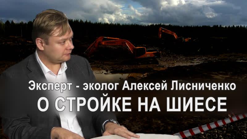 Эксперт - эколог Алексей Лисниченко о ШИЕСЕ