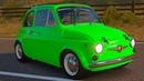 Мультики про Машинки Гонки для мальчиков. Видео для детей про Цветные Машинки. Fiat 1968 Abarth 595