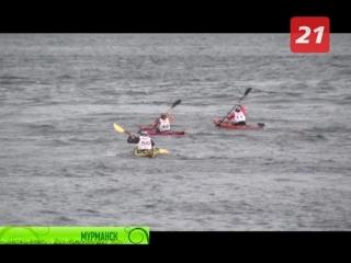 Победить себя и суровый Кольский залив. Водные виды спорта на фестивале Гольфстрим