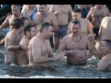 На Водохреще Кличко прнав у Днпро в парку Наталка