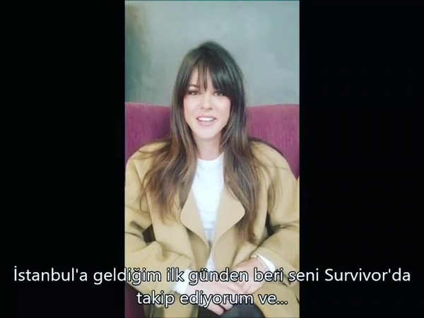 Sarah Butlerden Survivor 2018 Yarışmacısı Nagihan Karadereye Destek