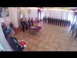 Флаг ВДВ - из космоса в зал Славы РВВДКУ