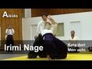 Aikido - Irimi Nage (Kata Dori Men Uchi) Shirakawa Ryuji shihan