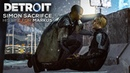 Simon Sacrifices His Life to Save Markus (During the Fight) - DETROIT BECOME HUMAN