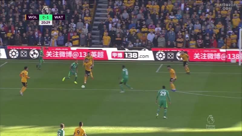 «Вулверхэмптон» 0:2 «Уотфорд» | Обзор матча