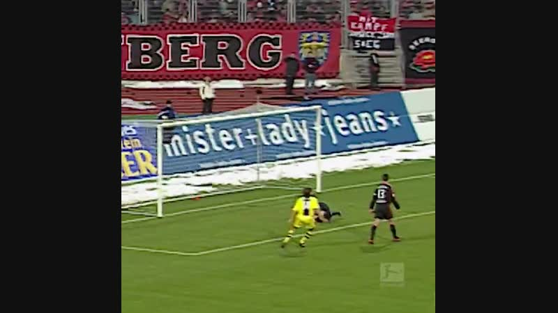 OnThisDay in 2005 - - 17-year-old @nurisahin became the youngest ever Bundesliga goalscorer
