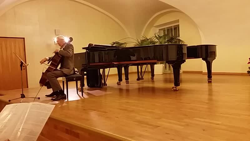 Ф. Крейслер. Романс для скрипки и фортепиано. (цыганка, синкопы) 20181214_195142
