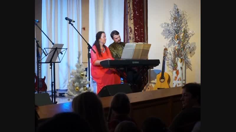 Евгений Печкин и Екатерина Щербакова Джаз Парнас 2