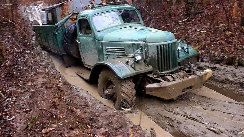 ЗИЛ-157 Колун Легендарный советский вездеход на бездорожье! Эта машина все еще может удивить!