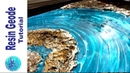 AWESOME RESIN GEODE with a natural look constraction foam plaster resin