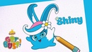 BRAND NEW SUNNY BUNNIES Drawing Shiny 2 Arts Crafts Cartoons for Kids