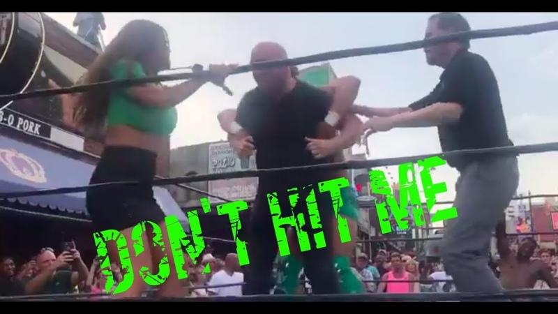 Dana White And Matt Serra Get Involved In Pro-wrestling Fight In Memphis - UFCTALKS