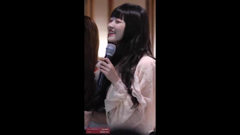 · Fancam · 180519 · OH MY GIRL (YooA) -