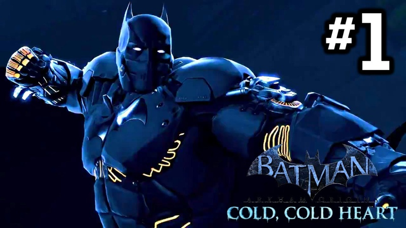 Batman Arkham Origins Cold Cold Heart DLC Walkthrough Part 1 HD Xbox 360 PS3 PC
