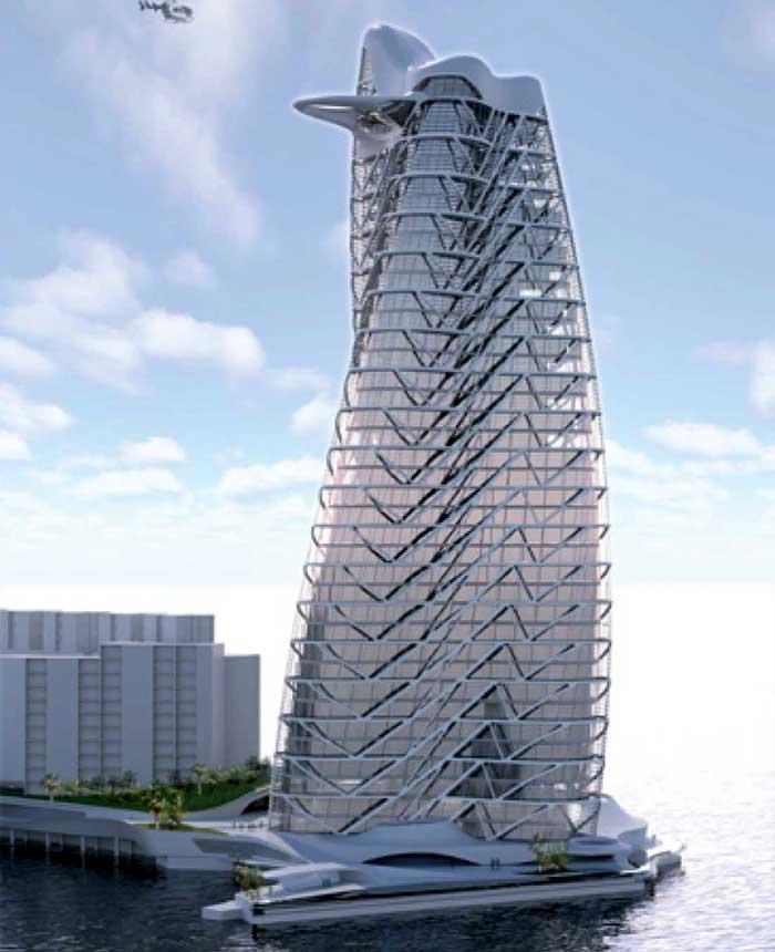 Strata Tower - Asymptote Architecture