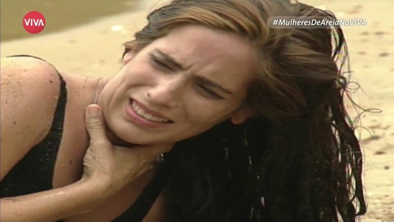 Mulheres de Areia: Tonho da Lua tenta matar Raquel
