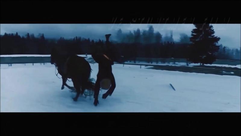 кино трюки (падения и сбивы с коня)