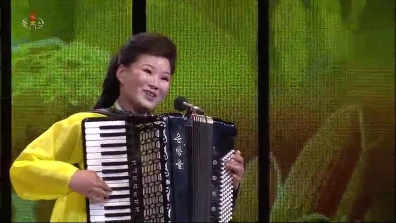 제16차 전국근로자들의 노래경연 농민부류 독창종목결승